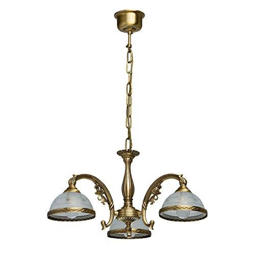 Lampadario da soffitto pendente antico tradizionale metallo