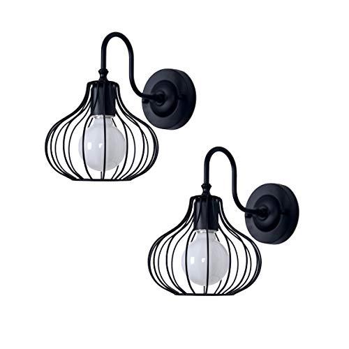 DSDY Wandlampe für Hotelzimmer, Schlafzimmer, kreative Persönlichkeit, Wandleuchte, Restaurant Cafe Flur, Retro kleines warmes Licht