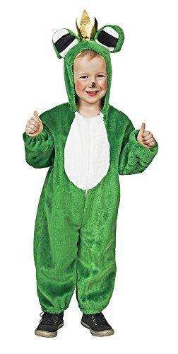 Overall Froschkönig Kostüm für Kinder - Gr. 128