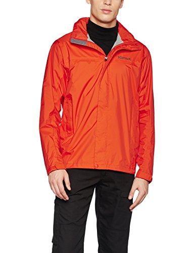 marmot-mens-precip-jacket-mars-orange-medium