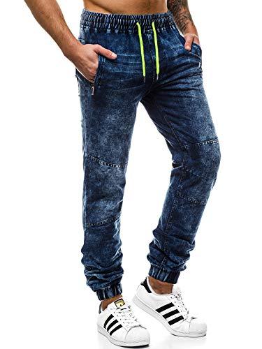 OZONEE Herren Jogg Hose Baggy Täglichen Hose Regular Jeans Sporthose Freizeit Hose Jogginghose Freizeithose JS/88003 2XL