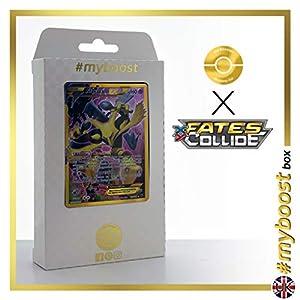 Alakazam EX 125/124 Full Art SECRETE - #myboost X Fates Collide XY 10 - Caja de 10 Cartas Pokémon inglesas