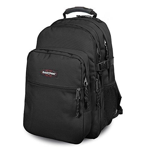 Preisvergleich Produktbild Eastpak Rucksack TUTOR Schwarz 48x33x26cm Polyester Stoff mit Laptop fach 15 Zoll 39x30cm Bowatex