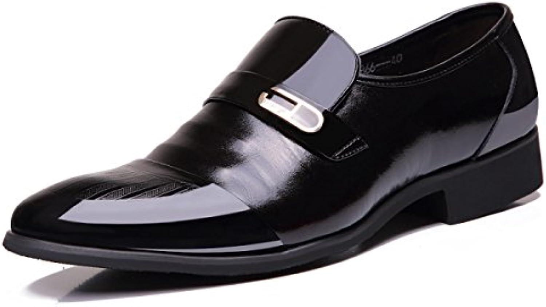 Männer Schuhe Geschnitzt Herrenschuhe England Spitz Niedrig Zu Helfen Einzelne Schuhe Retro Spitze Schuhe