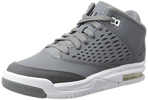 Nike Jordan Flight Origin 4 BG, Scarpe da Basket Bambino, Grigio (Cool Black/Dk Grey/White), 37.5 EU
