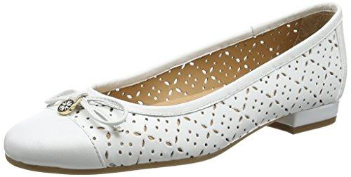 2724, Ballerine Donna, Bianco (White), 38.5 (Taglia Produttore: 5.5 UK) Van Dal