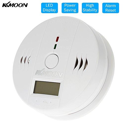 KKmoon CO Monossido di Carbonio Allarme Avvelenamento Gas Sensore Rivelatore di Attenzione Tester Mostrato a