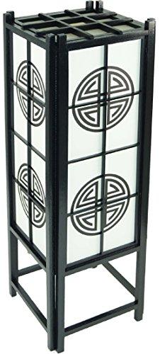 Deko-Leuchte MIA, Tischlampe in japanischem Stil, Stimmungsleuchte, Höhe ca. 60 cm