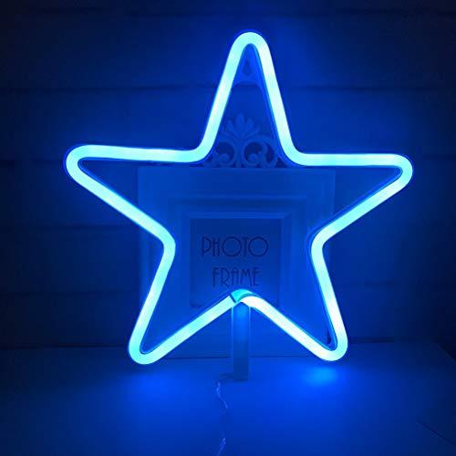 Neon Lights Led Star Signs Light Neon Art Lumieres Decoratives Decoration Murale Pour Chambre De Bebe Enfants Decoration De Fete De Mariage De Noel