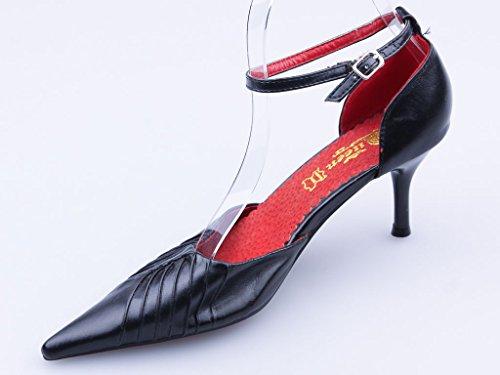 Talons hauts, Stiletto Pumps High Heels, noir ou violet, très sexy, modèle 13314103002679, escarpins, modèles et tailles différents (tailles 36 - 41). Noir.