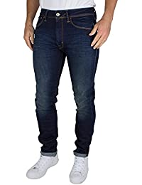 Franklin & Marshall Homme Skinny Fit Jeans Seattle, Bleu