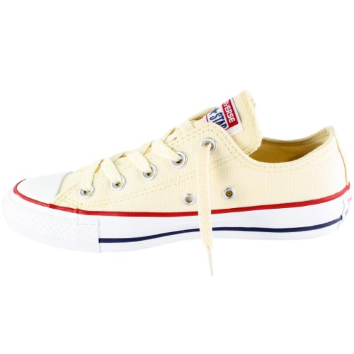 Converse - AS OX CAN MAROON, Sneakers, unisex Bianco