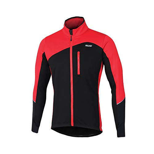 GWELL Homme Maillot de Cyclisme Automne Hiver Manches...