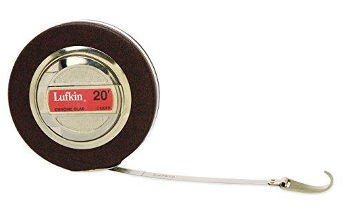 LUFKIN 120tpn 3/20,3cm X 20'Artisan Durchmesser und Baum Maßband, schwarz