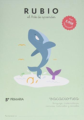 RUBIO VACACIONES  -5º PRIMARIA - 9788415971658