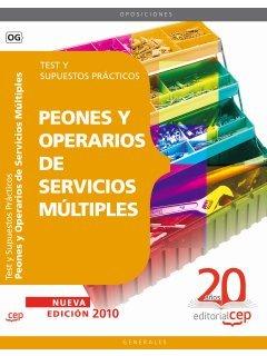 Peones y Operarios de Servicios Múltiples. Test y Supuestos Prácticos (Colección 91)