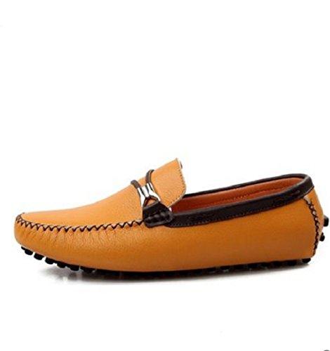 Le scarpe di guida confortevole estate/scarpe/Scarpe uomo casual Giallo