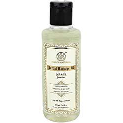 Khadi Jasmine Massage Oil, 210ml