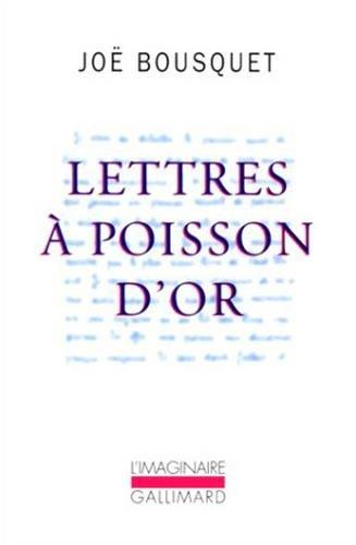 Lettres à Poisson d'Or