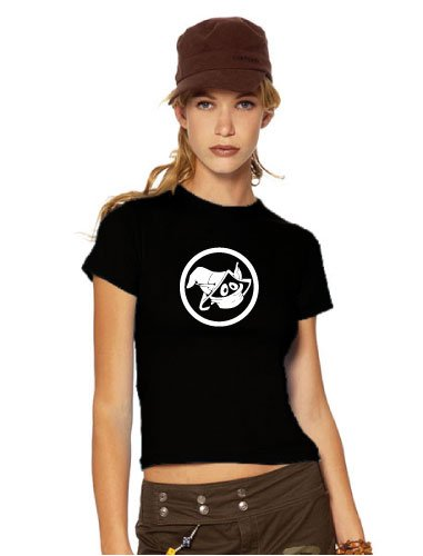 orko Kult Girlie da donna T Shirt, He-Man, Skeletor, MOTU, nero, M