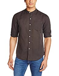 Levis Mens Casual Shirt (6901163838766_24639-0005_XX-Large_Black)