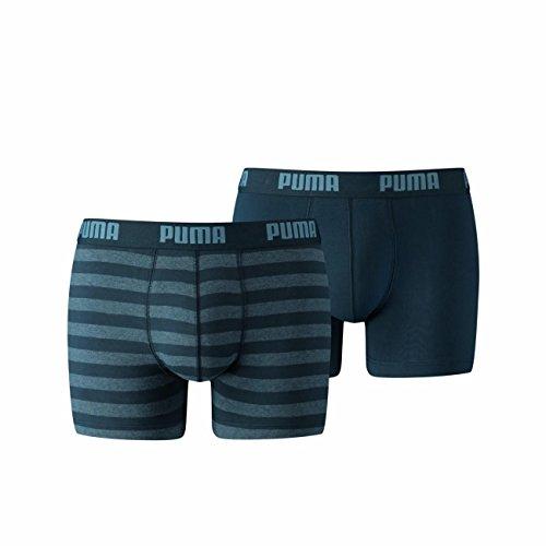 Puma 651001001 Boxer, 2 Pezzi, Uomo Denim (162)
