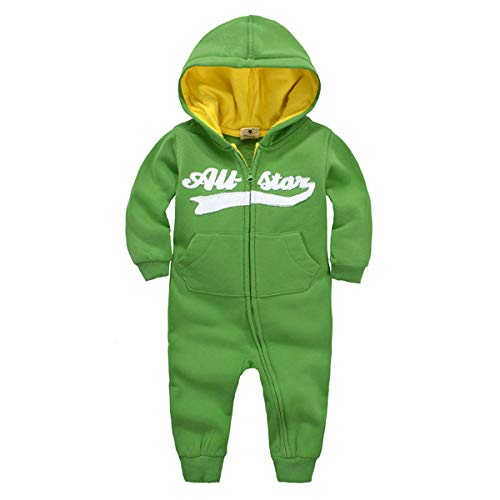 Bebone Baby Junge Strampler Herbst Winter Babybekleidung (Farbe 4, 9-12 Monate/80)