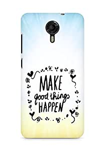 AMEZ make good things happen Back Cover For Micromax Canvas Xpress 2 E313