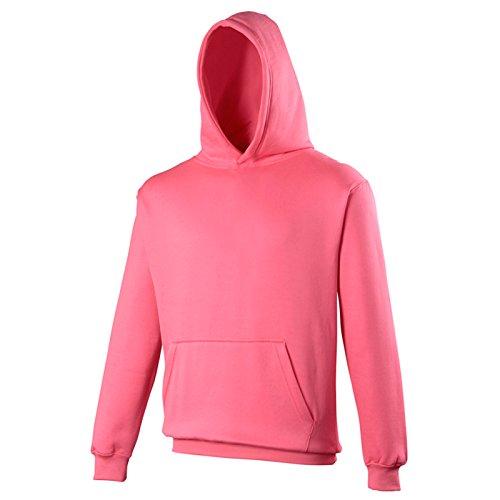 AWDis - Sweat à capuche - Moderne - Femme Rose électrique