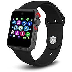 FMSBSC Lemfo LF07Bluetooth Reloj Inteligente 2.5d ARC HD Protector de Apoyo Tarjeta SIM Wearable Dispositivos Smartwatch para iOS Android