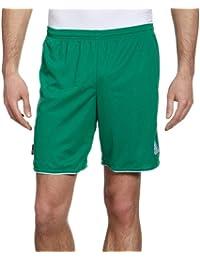 adidas Parma II SHT WB - Pantalón corto para hombre, color verde / blanco,