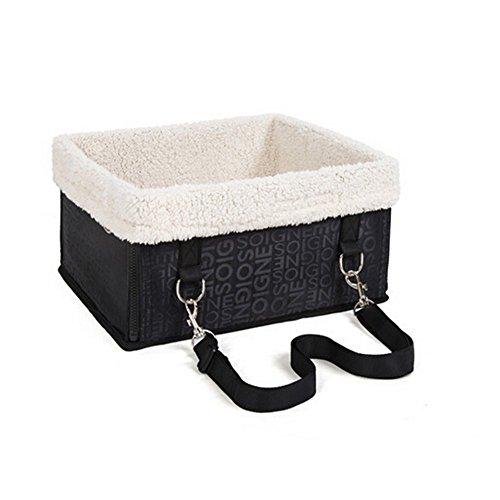 Louvra Hund Transporttasche Katze Transportbox Transportbox in Autositz faltbare für Nager Hunde WelpenKatzen usw (unter 5KG)