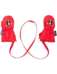 Manbi Baby & Toddler Snowflake Mittens with detachable glove retainer