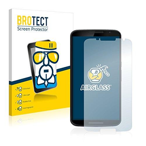 BROTECT Panzerglas Schutzfolie kompatibel mit Motorola Nexus 6 - Flexibles Airglass, 9H Härte
