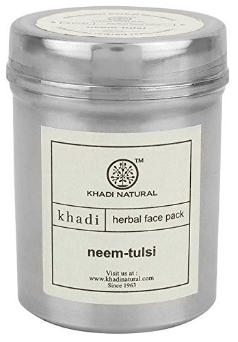 Khadi Neem and Tulsi Face Pack, 50g  available at amazon for Rs.81