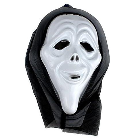 HCFKJ Halloween DrôLe Diversité Masque à Billes Fantaisie (D)