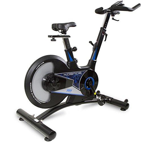 ION Fitness bicicleta de ciclismo indoor Kosmos con volante de inercia 20 kg trasero
