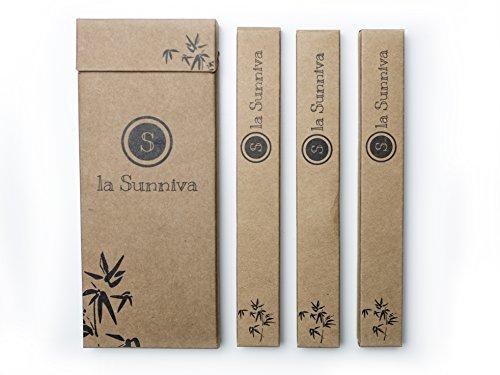 Design Bambuszahnbürsten im 3er-Pack - ein ästhetischer Blickfang im Badezimmer dank schlichtem und modernem Design - ökologisches Zähneputzen dank plastikfreier und veganer Zahnbürsten aus Bambusholz - ein angenehmes Zahnputzgefühl ohne Plastik - Recycling Verpackung - 6