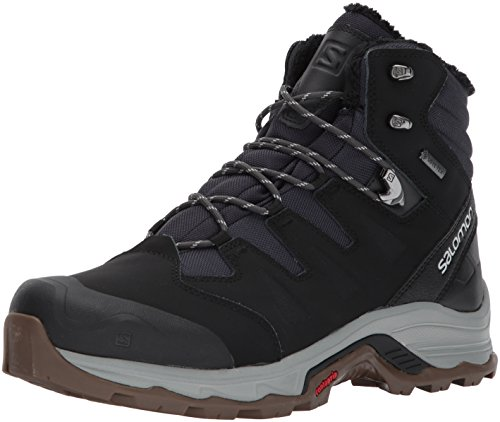 Salomon Quest Winter GTX, Zapatillas de Senderismo para Hombre, Negro (Phantom/Black/Vapor Blue),...