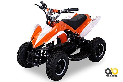Elektro Kinder Atv (Mini Elektro Kinder Racer 800 Watt ATV Pocket Quad (orange))