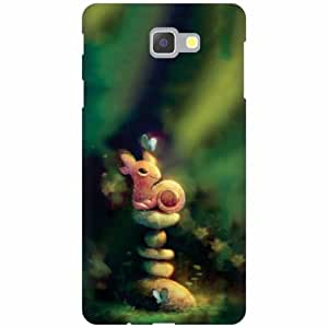 Samsung Galaxy On Next Hard Plastic Back Cover - Multicolor Designer Cases Cover by Printland