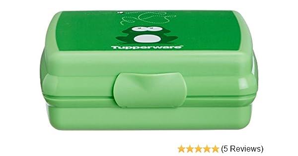 277 Tupperware Frog Sandwich Keeper Green
