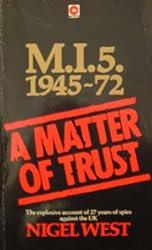 A Matter of Trust - M15 1945-72