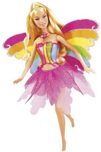 Mattel - Barbie Fairytopia L3903-0 - Magische Regenbogenfee Elina