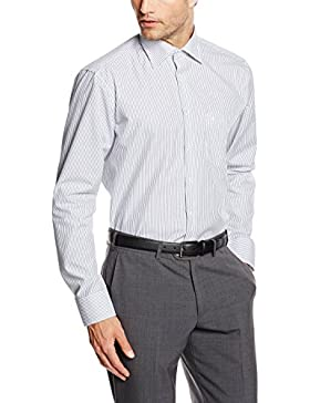 Seidensticker Herren Regular Fit Business Hemd KENT STRIPE
