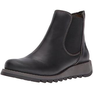 Fly London Salv Rug Women's Chelsea Boots - Black, 5 UK