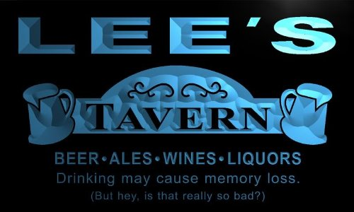 px124-b-lees-tavern-beer-mug-bar-pub-wine-neon-light-sign