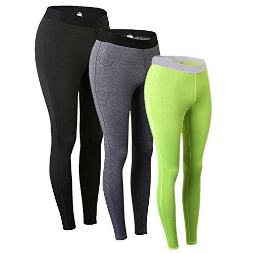YIFEIKU Co.,Ltd. Women Yoga Pant Gym Leggings Workout Stretchy Exercise Long Pants