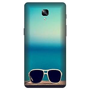 One Plus 3 Cool Glares Printed Hard Polycarbonate Designer Back Case Cover by Mobi Elite