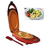 NOVABEL Poêle a Omelette - Plaque de Cuisson électrique portable -Poêle omelette...